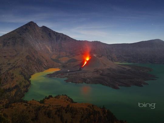 Mount Rinjani Volcano Mystery
