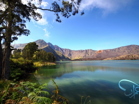 Segare Anak Lake, Rinjani Mountain Lombok
