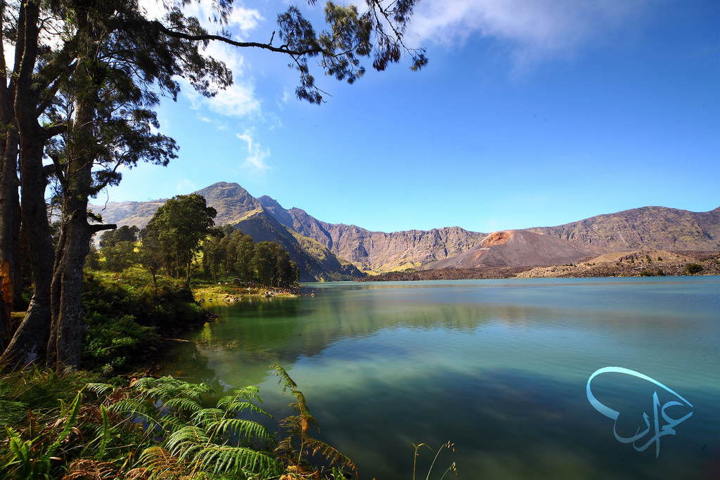 Segare Anak Lake, Rinjani Mountain Lombok