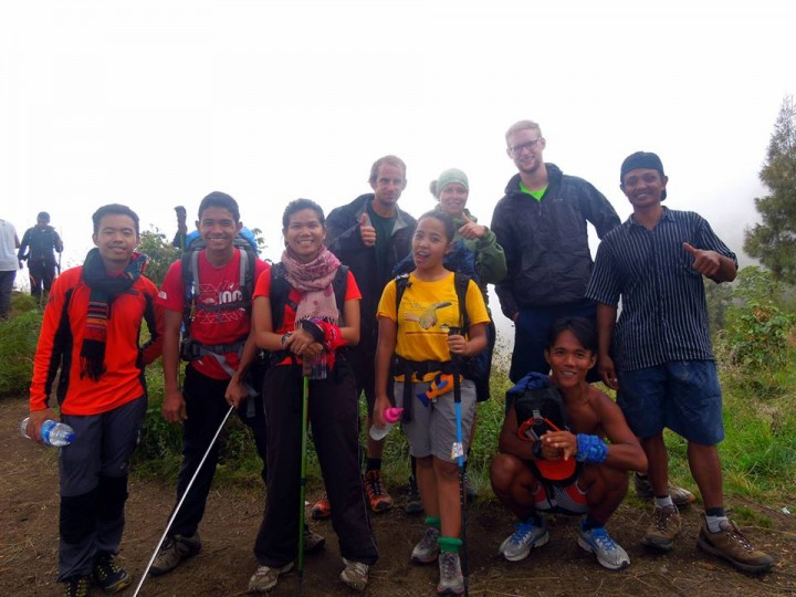 Philippines Group to Rinjani Mountain