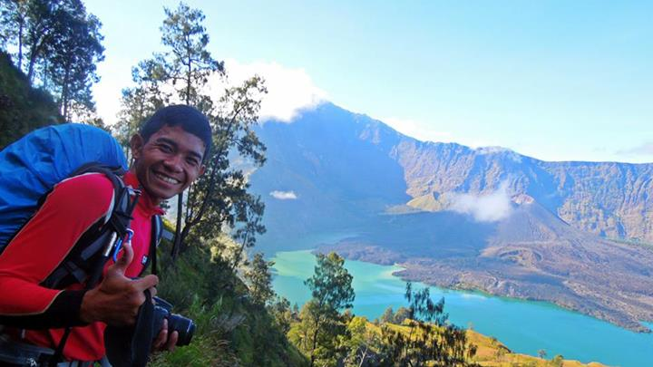 Rinjani Trekking with Philippines Group 7