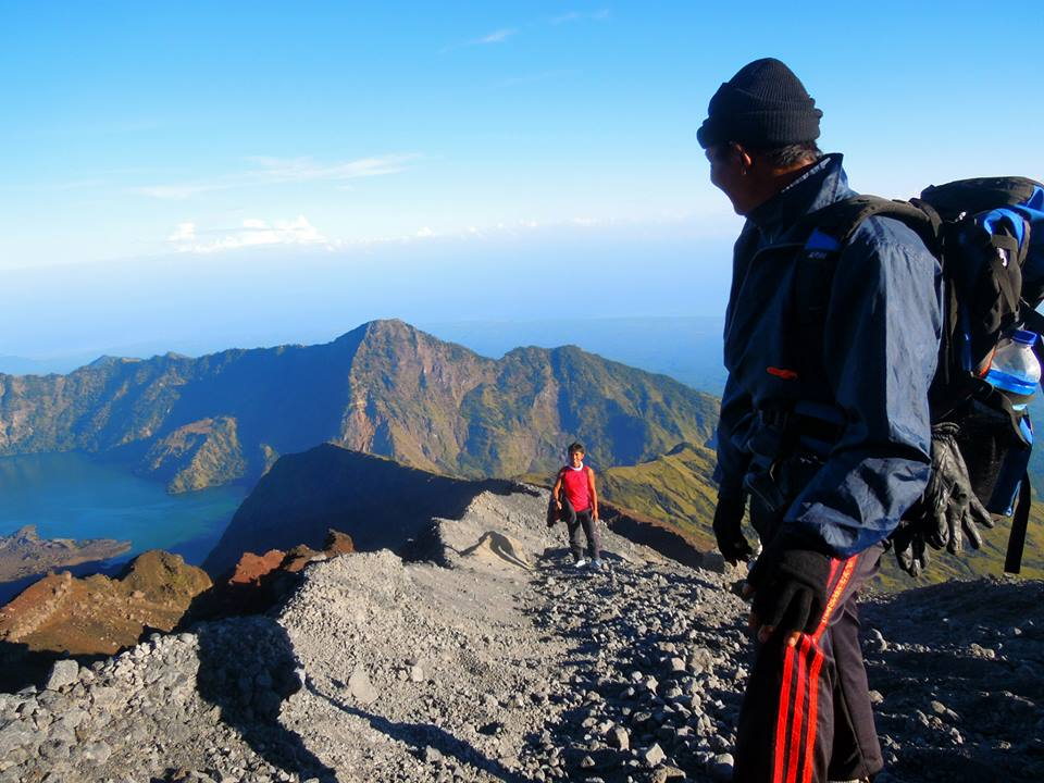 Rinjani Trekking with Philippines Group 2