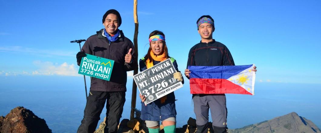 Philippines Group to Rinjani