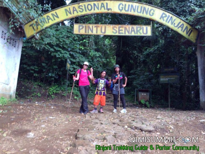 Trek to Rinjani Mountain with Miss Eza from Malaysia