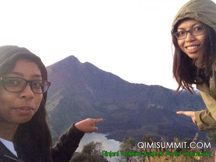 Trek to Rinjani Mountain with Miss Eza from Malaysia 7